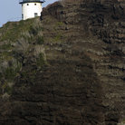 Picture - Lighthouse on Makapu'u Beach, Hawaii.