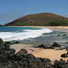 Picture - Makena Beach in Maui.