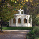 Picture - A pavilion in the Maksimir Park in Zagreb.
