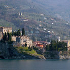 Picture - Malcesine seen from Lake Garda.