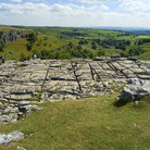 Picture - Rock formation in Malham National Park.
