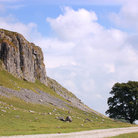 Picture - Cliff walls near Malham.