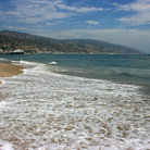 Picture - Malibu Beach, Los Angeles.