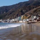 Picture - Seaside buildings at Topanga Beach, Malibu.