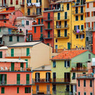 Picture - Colourful texture of Manarola city of Cinque Terre.