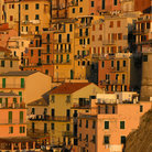 Picture - Hillside houses in Manarola.