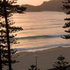 Picture - Sunrise at Manly Beach, Sydney.