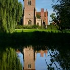 Picture - Church reflection, Mapledurham.