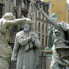 Picture - Statues by the Marbel Church in Copenhagen.