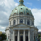 Picture - Dome of the Marble Church in Kobenhavn.