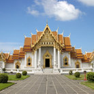 Picture - Marble Temple in Bangkok.