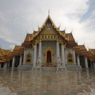 Picture - The Marble Temple, Wat Benchama-bo-bitr, in Bangkok.