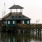 Picture - Schooner pier, Maritime and Seafood Industry Museum in Biloxi.