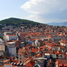 Picture - The view over Split from Marjan Hill.