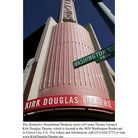 Picture - Tower of the Kirk Douglas Theatre in Los Angeles.