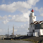 Picture - Lighthouse at Marken.