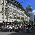 Picture - Cafe in Marktgasse Street in Bern.