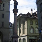 Picture - One of the statues in Marktgasse street in Bern.