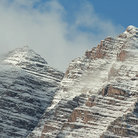 Picture - The peaks of Maroon Bells.