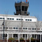 Picture - Control Tower at Martha Vineyard's airport, MA.