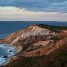 Picture - Red Cliffs in Martha's Vineyard, MA.