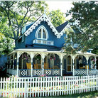 Picture - Gingerbread House at Martha's Vineyard, MA.