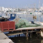 Picture - Boats in the harbor at Martigues.