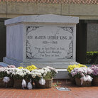 Picture - Martin Luther King Grave in Atlanta.