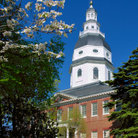 Picture - Maryland State House in Annapolis.