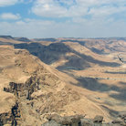 Picture - View of the Dead Sea Valley from Masada.