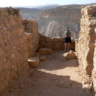 Picture - Lookout from Masada.