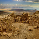 Picture - Ruins of the Ancient City of Masada.