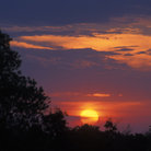 Picture - Sunset over Masai Mara.
