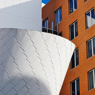 Picture - Frank O Gehry Strata Center at MIT in Cambridge.
