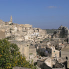 Picture - View over the town of Matera.