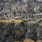 Picture - The prehistoric settlement at Matera.