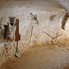 Picture - Matmata and implements at the troglodyte dwellings.