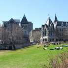 Picture - A beautiful day at McGill University in Montreal.