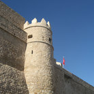 Picture - Fortified walls of the Hammamet Medina.
