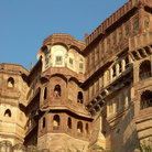 Picture - The Mehrangarh Fort in Jodhpur.