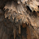 Picture - Stalactites at Melidoni Cave.