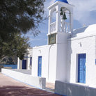 Picture - White church on the Island of Milos.