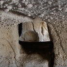 Picture - Detail of catacombs on Milos Island.