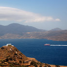 Picture - Hilltop chapel on Milos.