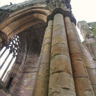 Picture - Detail from Melrose Abbey.