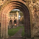 Picture - Doorway at Melrose Abbey.