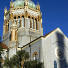 Picture - Tower of the Presbyterian church in St Augustine.