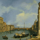 Picture - The Grand Canal from Campo di San Vio, 1730-1735, Giovanni Antonio Canaletto (Italian, 1697-1768), Oil on canvas, Gift of the Samuel H. Kress Foundation - Memphis Brooks Museum of Art.