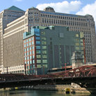 Picture - The Merchandise Mart, an Art Deco building in Chicago.