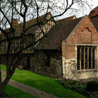Picture - The old Merchant Aventurers Hall in York.